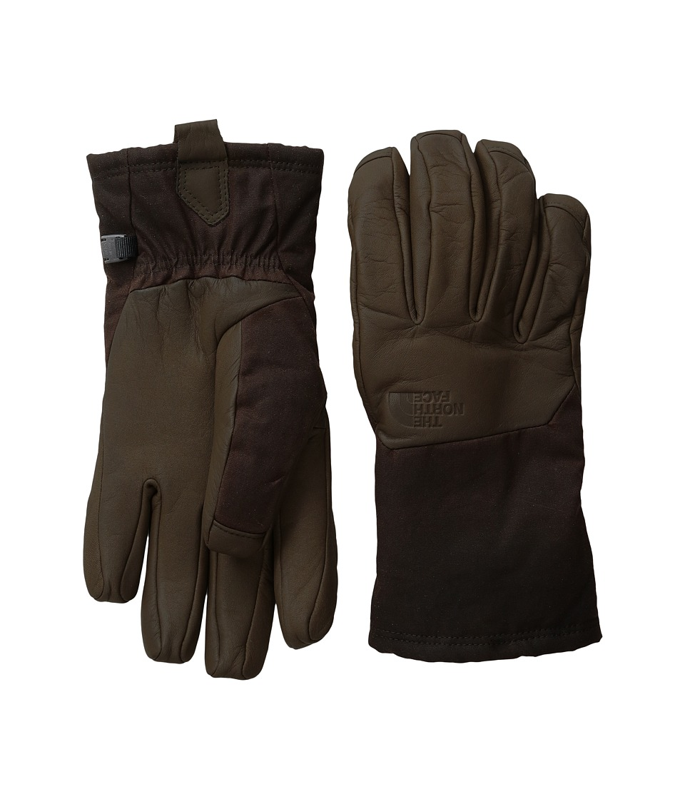 The North Face - Men's Denali SE Leather Glove (Brownie Brown) Extreme Cold Weather Gloves