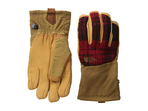 The North Face - Men's Denali SE Wool Glove (Dachshund Brown) Extreme Cold Weather Gloves