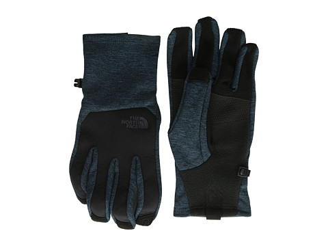 The North Face - Men's Canyonwall Etip Glove (Monterey Blue Heather) Extreme Cold Weather Gloves