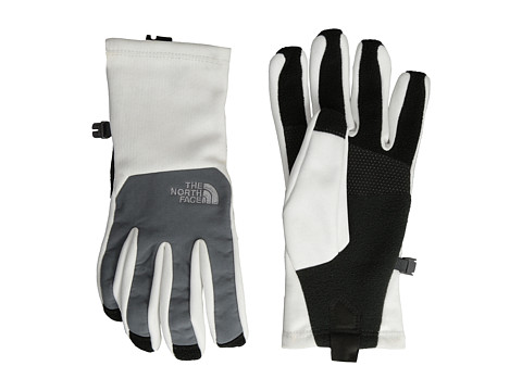 The North Face - Women's Canyonwall Etip Glove (TNF White) Extreme Cold Weather Gloves