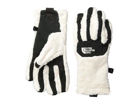 The North Face - Women's Denali Thermal Etip Glove (Gardenia White/TNF Black) Extreme Cold Weather Gloves