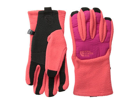 The North Face - Women's Denali Etip Glove (Rambutan Pink/Cerise Pink) Extreme Cold Weather Gloves