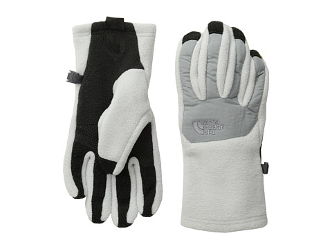 The North Face - Women's Denali Etip Glove (High Rise Grey/Monument Grey) Extreme Cold Weather Gloves