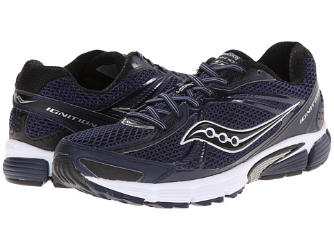 Saucony - Grid Ignition 5 (Navy/Black) Men's Running Shoes