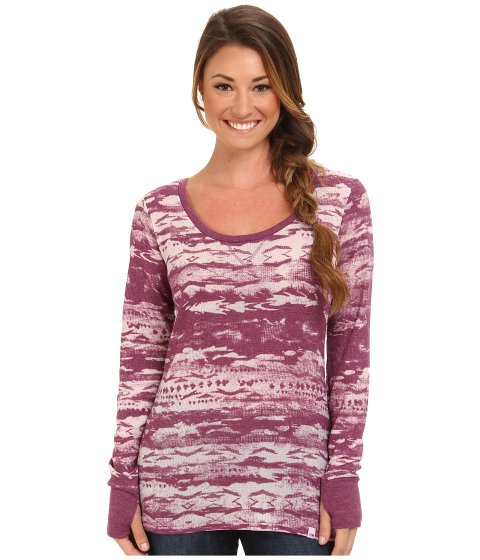 The North Face - Be Calm L/S Thermal Burn Out (Parlour Purple) Women