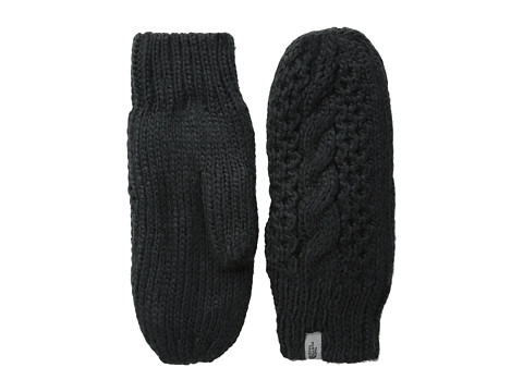 The North Face - Women's Cable Knit Mitt (TNF Black) Over-Mits Gloves
