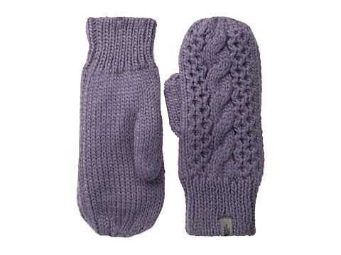 The North Face - Women's Cable Knit Mitt (Purple Sage) Over-Mits Gloves