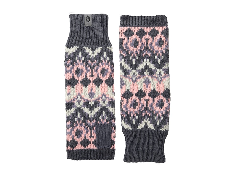 The North Face - Women's Mackie Armwarmer (Greystone Blue/Purple Sage) Over-Mits Gloves