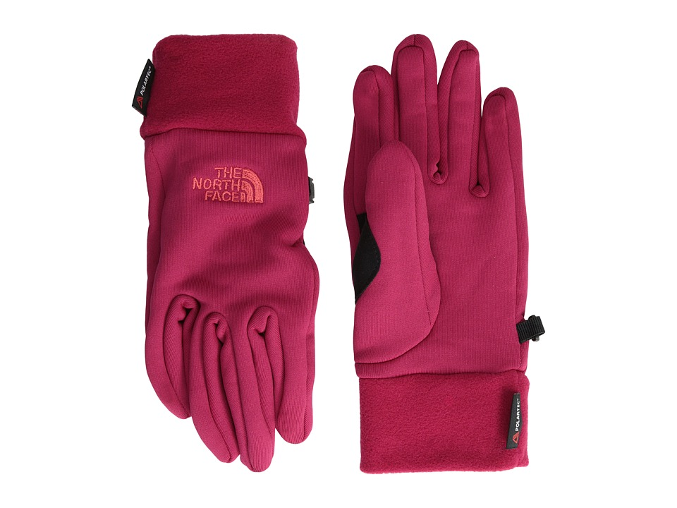 The North Face - Women's Power Stretch Glove (Cerise Pink) Extreme Cold Weather Gloves