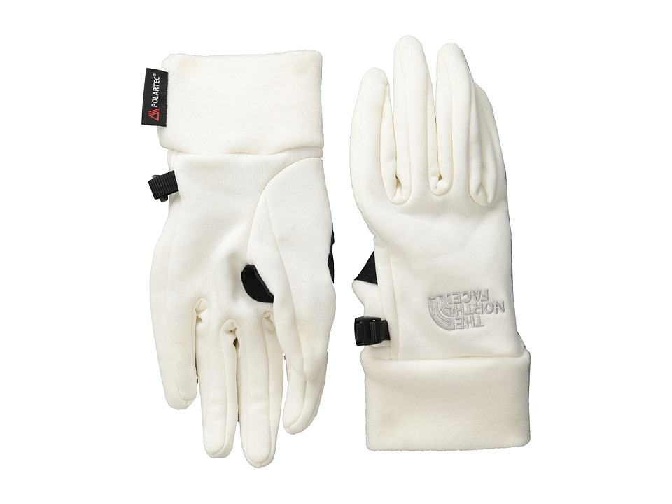 The North Face - Women's Power Stretch Glove (Gardenia White) Extreme Cold Weather Gloves