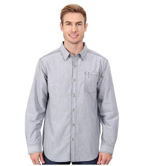 Columbia - Arbor Peak Oxford Long-Sleeve Shirt (Collegiate Navy) Men's Long Sleeve Button Up