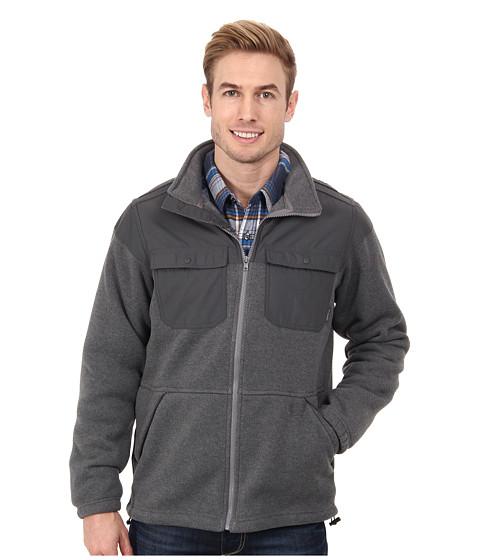 Columbia - Terpin Point Overlay Fleece (Boulder Heather/Grill) Men