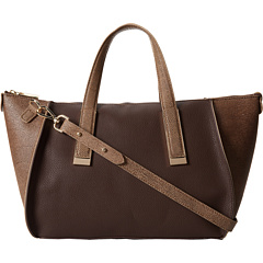 SALE! $79.99 - Save $95 on Ivanka Trump Amanda Satchel (Cocoa Stingray) Bags and Luggage - 54.29% OFF $175.00