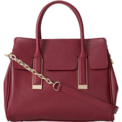 SALE! $99.99 - Save $95 on Ivanka Trump Amanda Framed Satchel (Magenta Saffiano) Bags and Luggage - 48.72% OFF $195.00