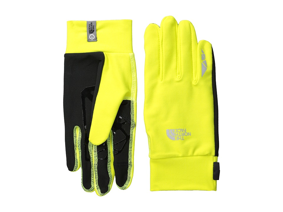 The North Face - Runners 1 Etip Glove (Sulphur Spring Green) Extreme Cold Weather Gloves