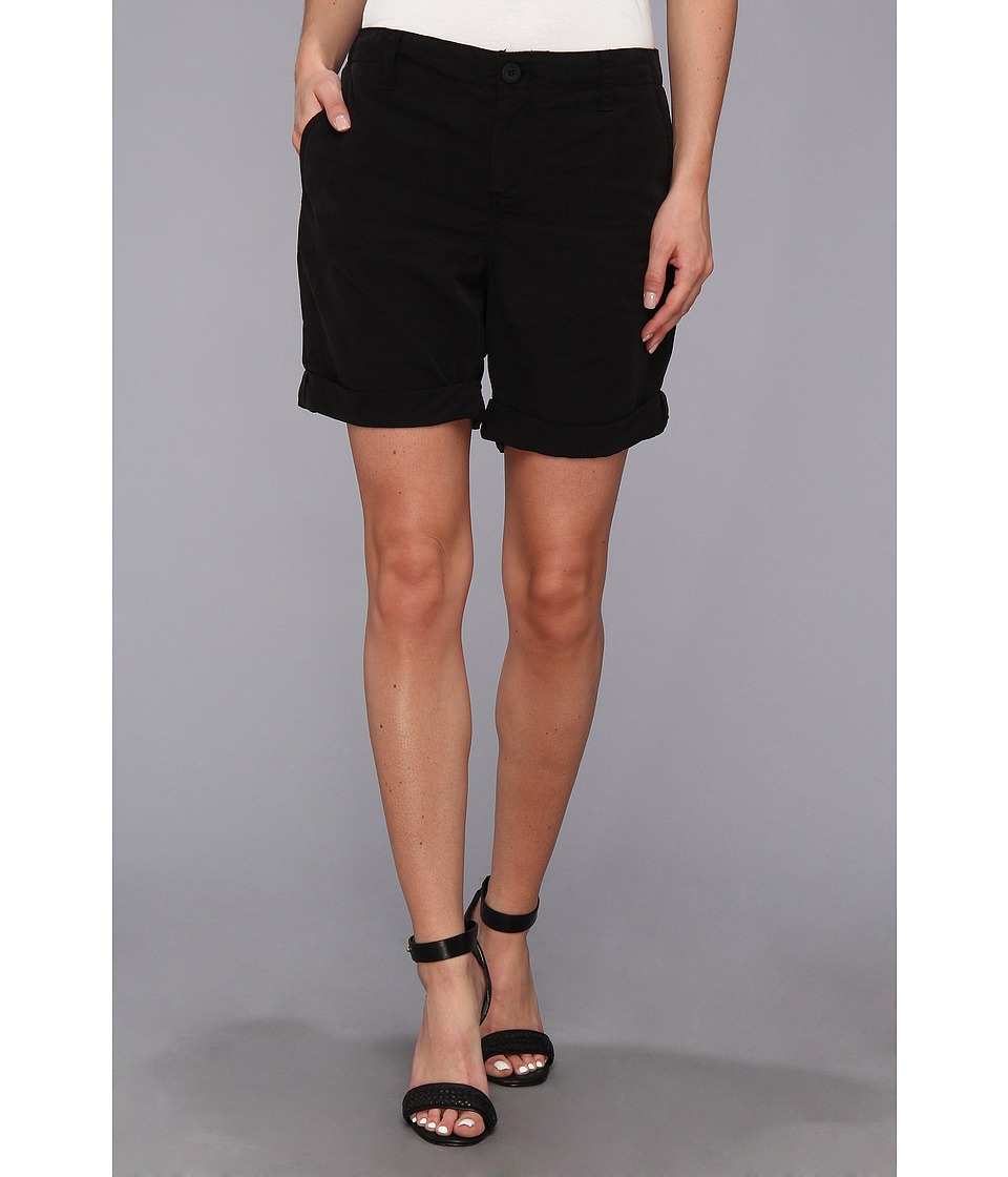 Calvin Klein Jeans - Sandwashed Poly Cargo Short (Black) Women's Shorts