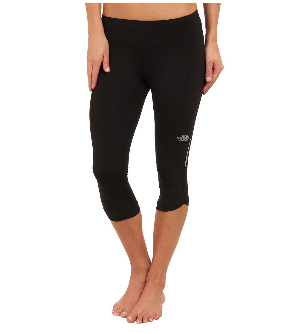 The North Face - GTD Capri Tight (TNF Black) Women's Workout