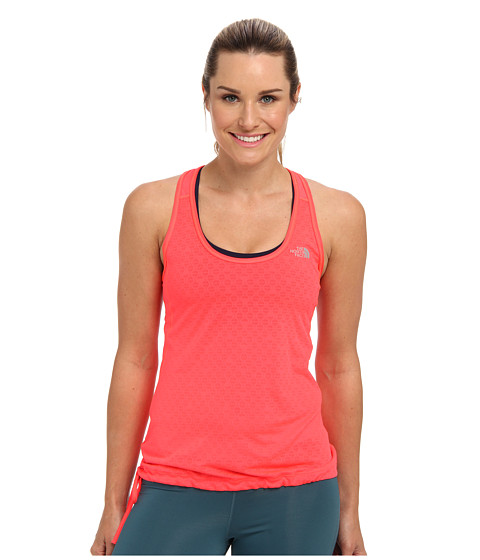 The North Face - Eat My Dust Mesh Tank (Rocket Red) Women