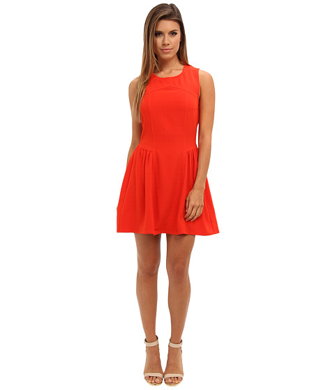 MINKPINK - Forgotten Thoughts Dress (Tomato Red) Women