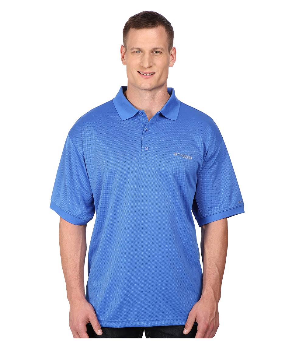 Columbia - Perfect Cast Polo - Extended (Vivid Blue) Men's Clothing