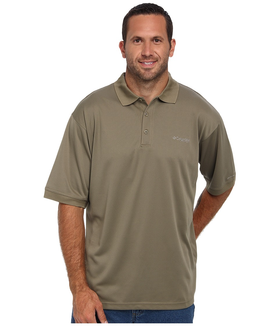 Columbia - Perfect Cast Polo - Tall (Sage) Men's Short Sleeve Pullover