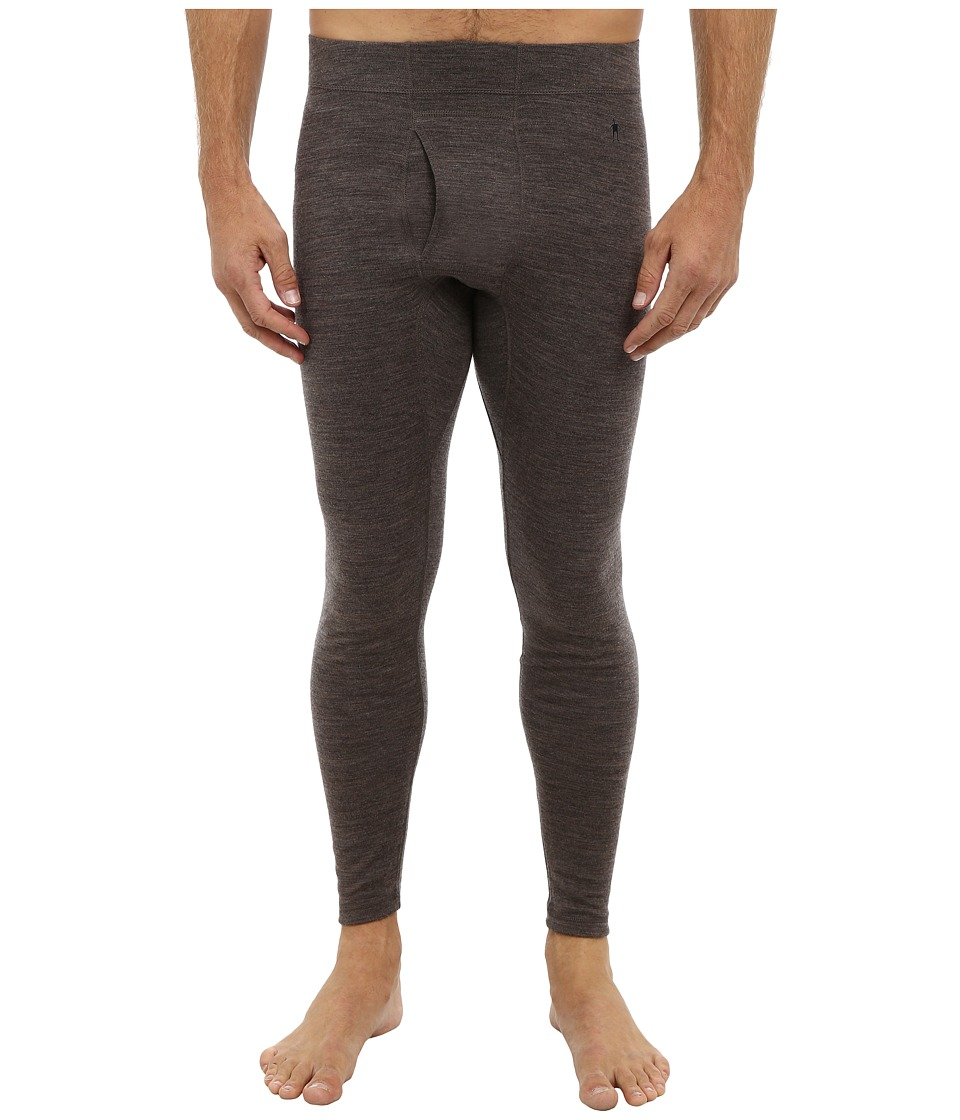 Smartwool - Midweight Natural Rise Bottom (Taupe Heather) Men's Clothing