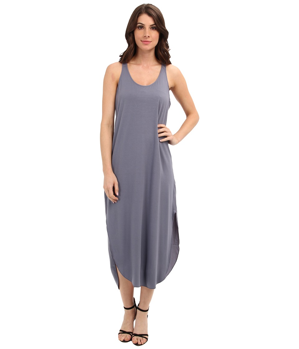 Calvin Klein Jeans - Woven Back Racer Dress (Folkstone Blue) Women