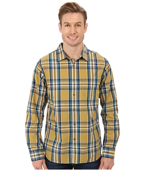 The North Face - L/S Hammetts Shirt (Bronze Mist) Men's Long Sleeve Button Up