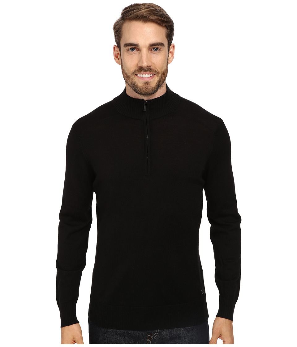 Smartwool - Kiva Ridge Half Zip (Black) Men's Long Sleeve Pullover