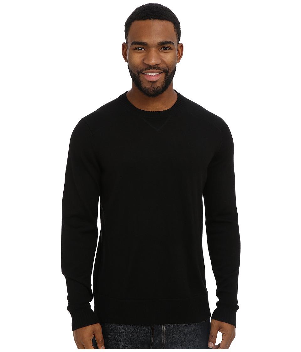 Smartwool - Kiva Ridge Crew (Black) Men's Long Sleeve Pullover