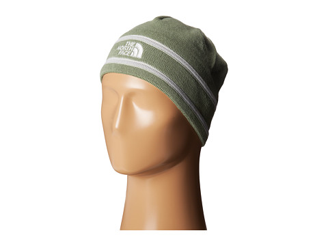 The North Face - The North Face Logo Beanie (Sea Spray Green) Beanies