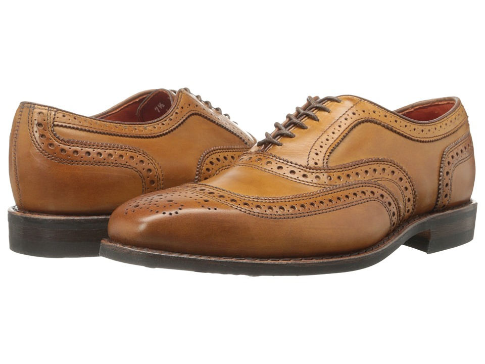 Allen-Edmonds University (Walnut Burnished Leather/Orange Lining) Men