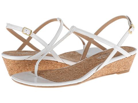 Splendid - Edgewood (White Patent) Women's Sandals