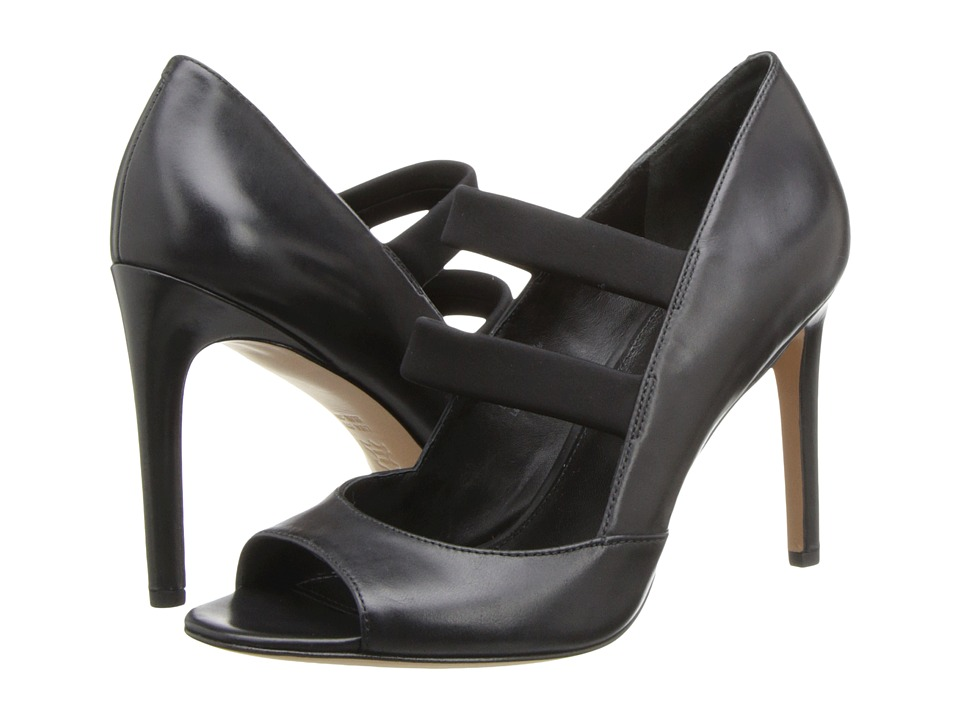 Via Spiga - Ettie (Black Delice Soft Calf/Elastic) High Heels