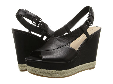 Via Spiga - Maisy (Black Patty Calf) Women