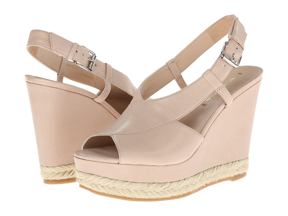 Via Spiga - Maisy (Nude Patty Calf) Women's Wedge Shoes