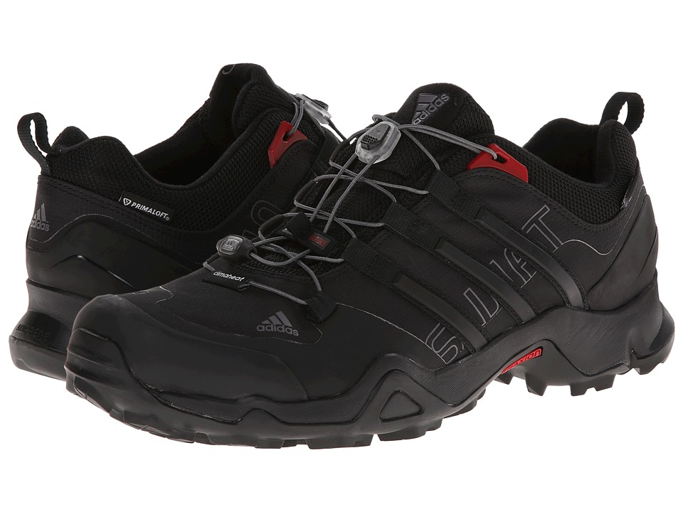 adidas Outdoor - Terrex Swift PrimaLoft (Black/University Red) Men