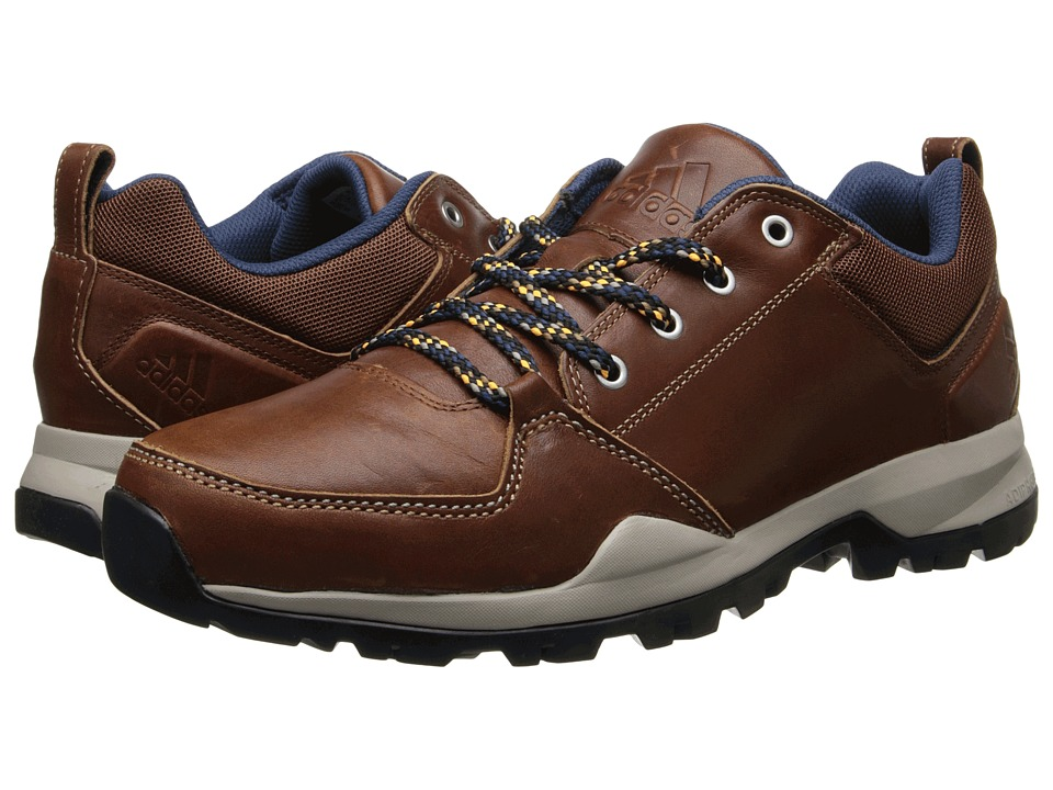 adidas Outdoor - Rockstack Leather (Leather/Rich Blue) Men's Shoes