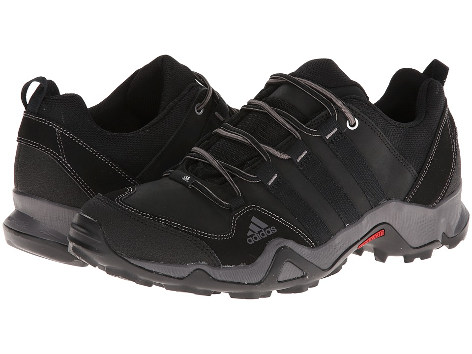 adidas Outdoor - Brushwood Leather (Black/Sharp Grey) Men's Shoes
