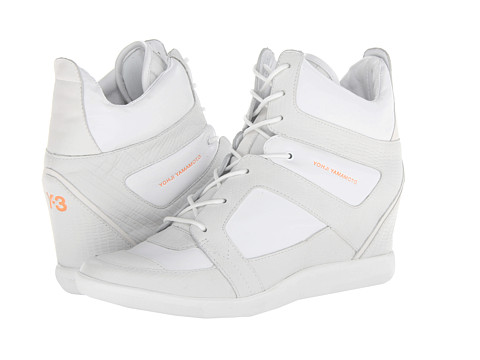 adidas Y-3 by Yohji Yamamoto - Y-3 Sukita II (R White/R White/Zest) Women's Lace up casual Shoes