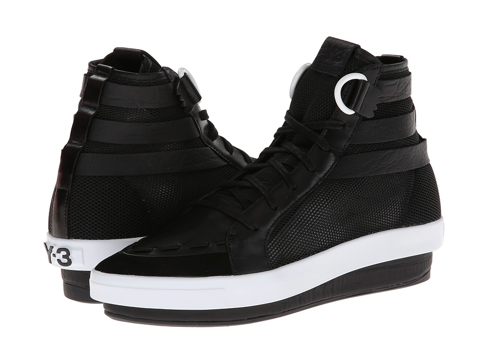 adidas Y-3 by Yohji Yamamoto - Y-3 Trinn (Black Y-3/ Black Y-3/R White) Women's Lace up casual Shoes