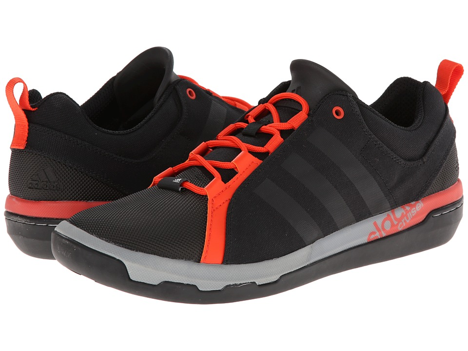 adidas Outdoor - Slack Cruiser (Black/Dark Orange) Men's Shoes