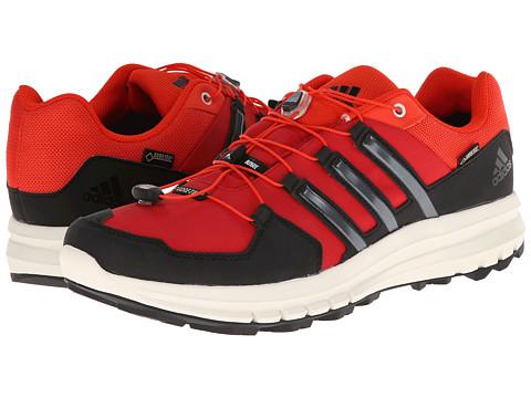 adidas Outdoor - Duramo Cross X GTX (University Red/Black/Dark Orange) Men