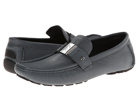 Bugatchi - Miro (Graphite) Men's Slip on Shoes