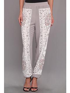 SALE! $186.99 - Save $61 on BCBGMAXAZRIA Boa Printed Track Pant (Gardenia Combo) Apparel - 24.60% OFF $248.00