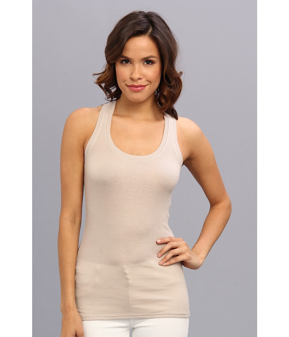 BCBGMAXAZRIA - Emmie Essential Tank (Light Stone) Women's Sleeveless
