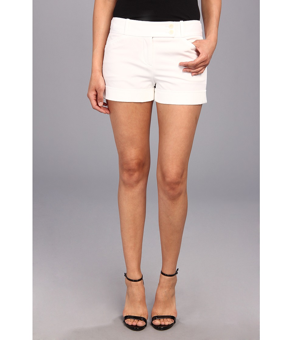 BCBGMAXAZRIA - Symon Shorts (White) Women's Shorts