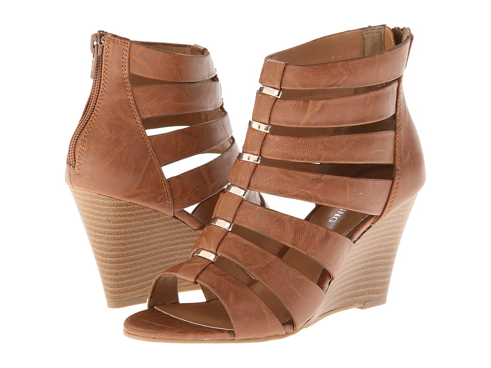 Call it SPRING - Thylla (Cognac) Women's Wedge Shoes
