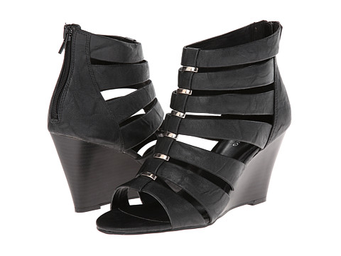 Call it SPRING - Thylla (Black Synthetic) Women's Wedge Shoes