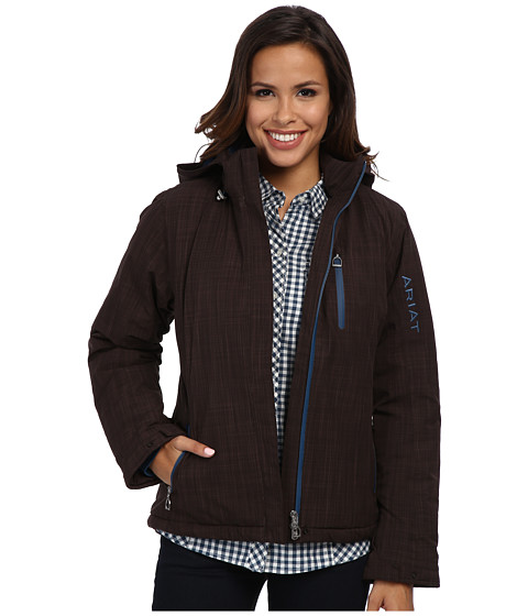 Ariat - Highland Waterproof Jacket (Coffee Bean Heather) Women
